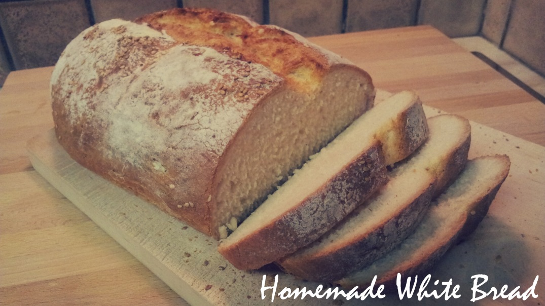 Homemade White Bread by Anchor it down