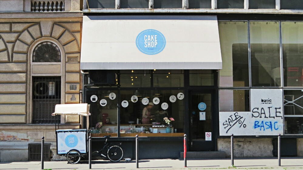 The Cake Shop Budapest by Anchoritdown